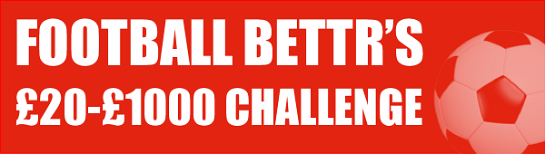 £20-£1000 Challenge