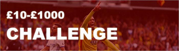 £10-£1000 Betting Challenge